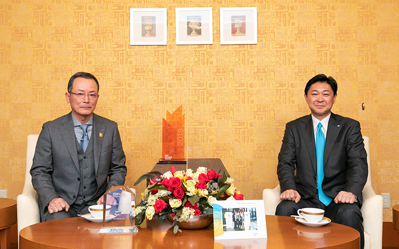 SAPジャパン株式会社 代表取締役社長 鈴木洋史様との対談