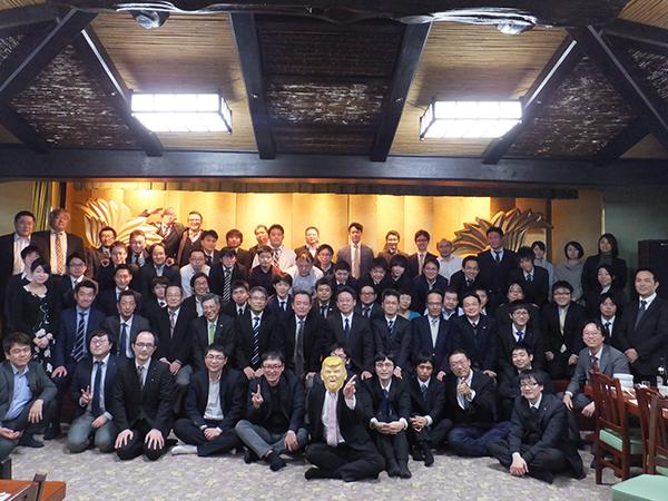 名古屋本社忘年会の様子1