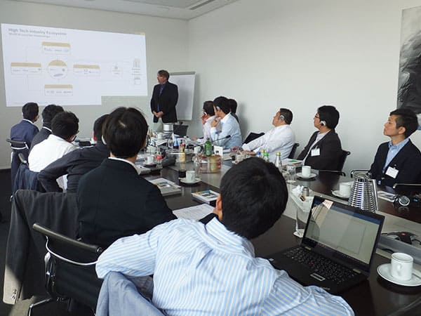 SAP社のドイツ・ヴァルドルフ本社を表敬訪問