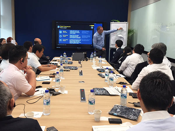 SAPシンガポール社に視察1