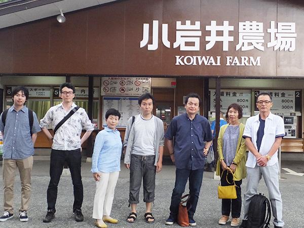 社員旅行で岩手県を観光1