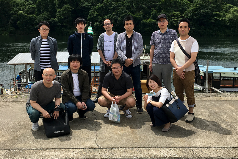 社員旅行で新潟県を観光