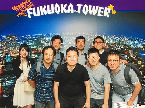 社員旅行で福岡県を観光