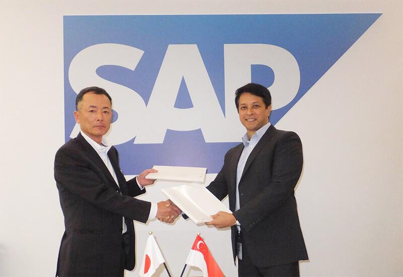 シンガポールにおいて、基幹システム大手のドイツ・SAP社と グローバル展開を目的としたクラウドサービスについて業務提携。 又、同国初のTOSSセミナーも2日間開催し、大盛況となりました。