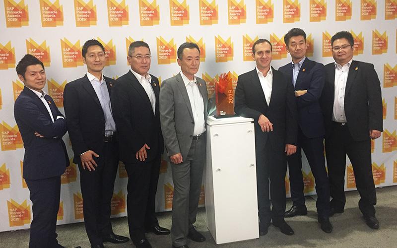 日本で唯一!SAP Pinnacle Awards 2019を受賞しました。