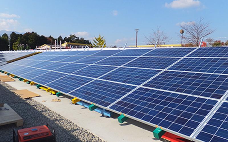ソーラー発電量が200万kWhを達成!